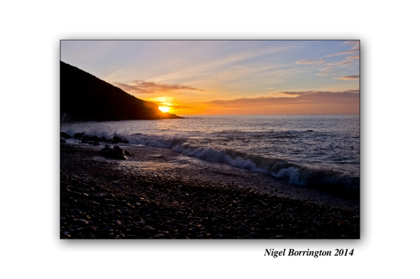 Monday Morning at the Beach, Monatray West, Youghal, Irish Landscape Photography : Nigel Borrington